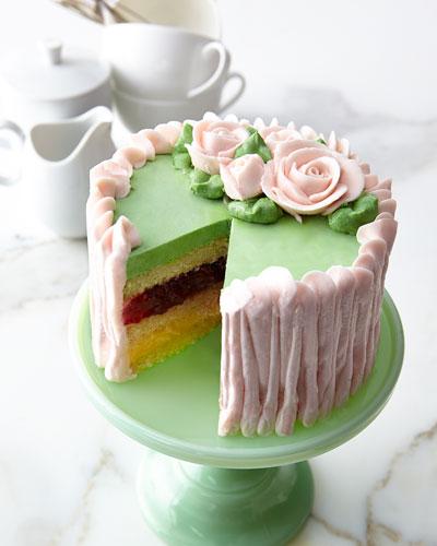 Imperial Raspberry Lemon Cake