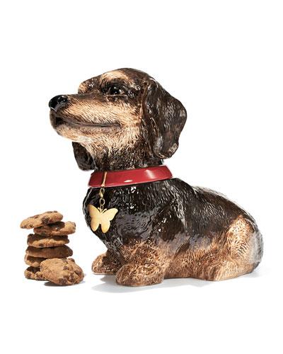 NM EXCLUSIVE Dachshund Cookie Jar Set
