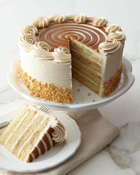 Frosted Art Bakery Butter Bourbon Cake