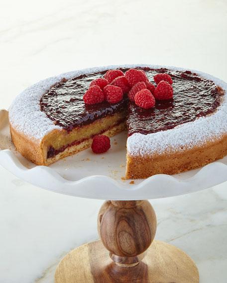 Sweet Lady Jane Raspberry Marzipan Tart