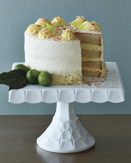 Annie Pie's Bakery Key Lime Coconut Cake