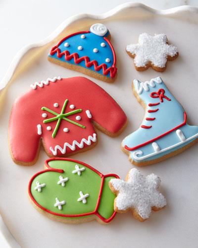 Winter Fun Decorated Cookies