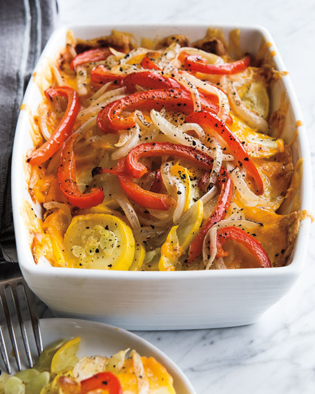 Southwest Squash Casserole, For 12 People