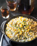 Bourbon Creamed Corn, For 10 People