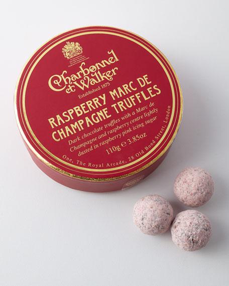 Charbonnel ET Walker Raspberry Marc de Champagne Truffles