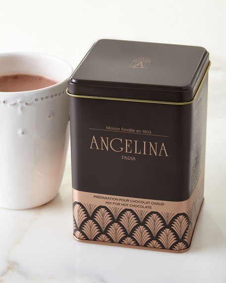 Angelina Hot Chocolate Mix in Tin