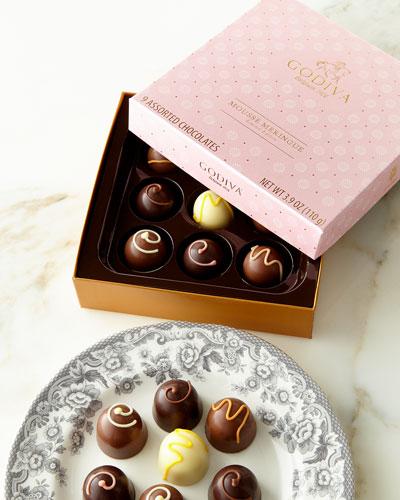 Mousse Meringue Gift Box, 9 Pieces