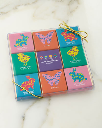 Dylan's Candy Bar 18-Piece Easter Chocolate Squares