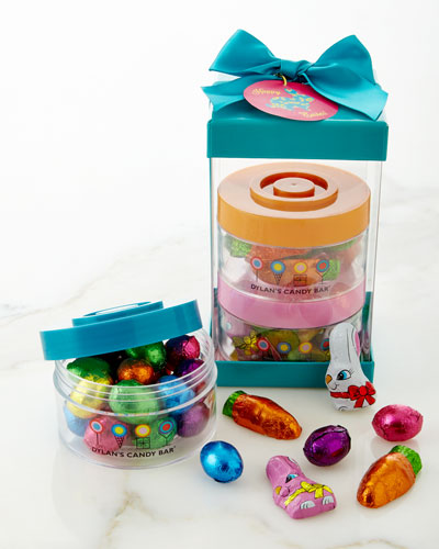 Dylan's Candy Bar Easter 3-Jar Stack Around