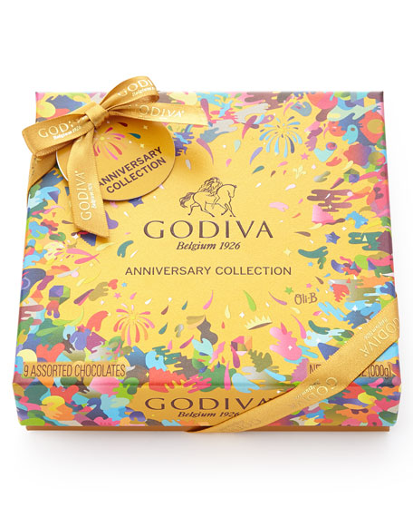 Godiva 9-Piece 90th Anniversary Collection