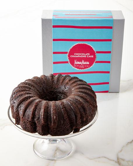 Chocolate Champagne Liqueur Cake