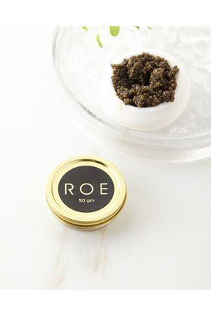 Roe White Sturgeon Caviar, 50gm