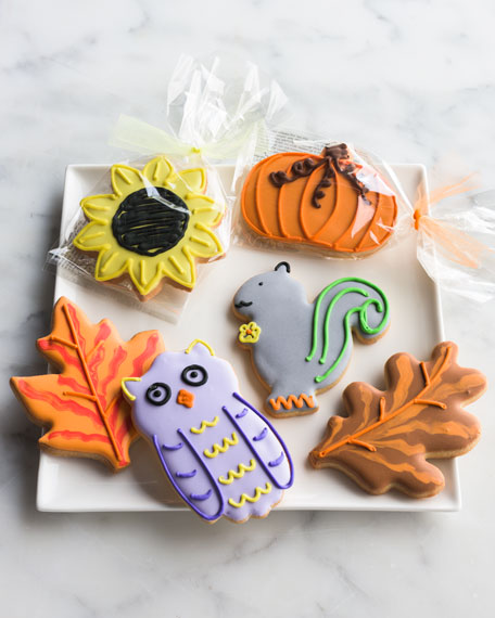 6 Fall Fun Butter Cookies