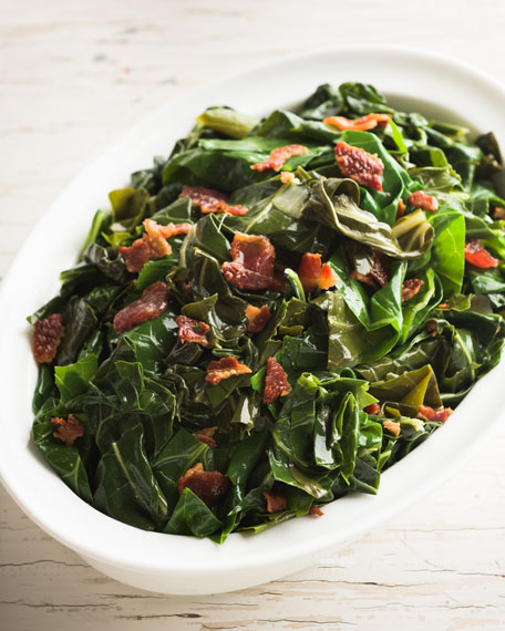 Collard Greens, For 8-10 People