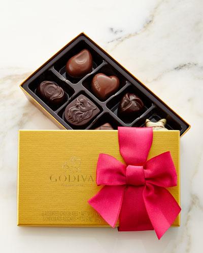 8-Piece Spring Gold Chocolates