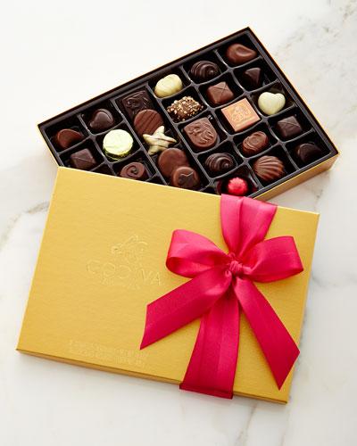 36-Piece Spring Gold Chocolates