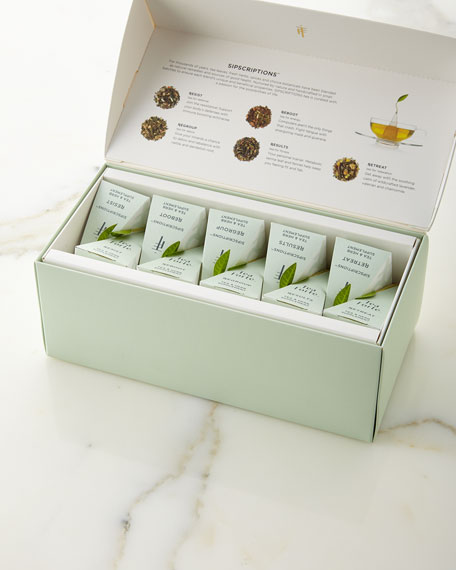 Tea Forte Sipscriptions Presentation Box