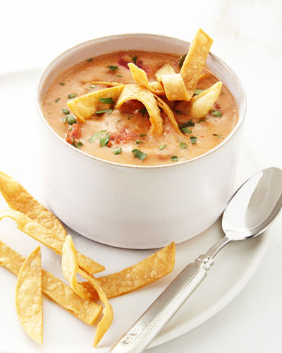 Downtown Cheesy Tortilla Soup, Four Servings