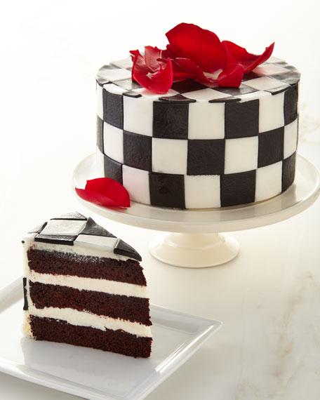"""6"""" MacKenzie Childs Cake"""