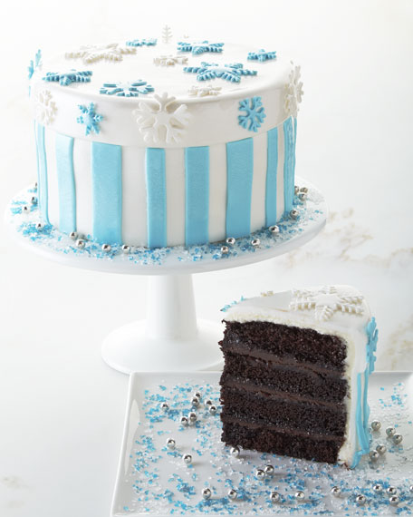 Frosted Art Bakery Peppermint Chocolate Ganache Cake