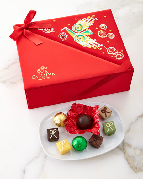 Godiva Chocolatier Holiday Luxury Box