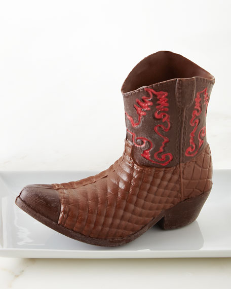 Exclusive Red River Chocolate Cowboy Boot