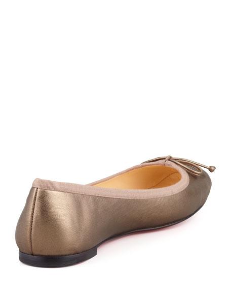 ef37984bb29 Christian Louboutin Rosella Square-Toe Ballerina Flat