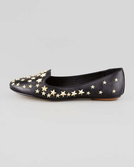 Infini Star-Studded Smoking Slipper