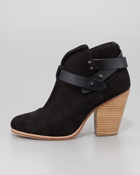Harrow Nubuck Ankle Boot, Black