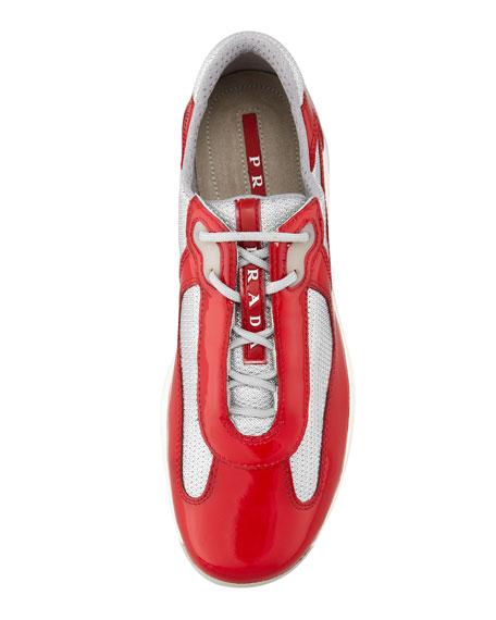 Rossa Sneaker America's Red Linea Prada Cup ZfRw1Zq