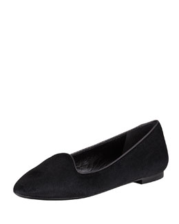 Tom Ford Calf Hair Smoking Slipper