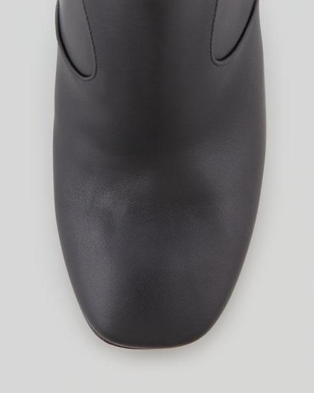 Spike-Heel Ankle Bootie
