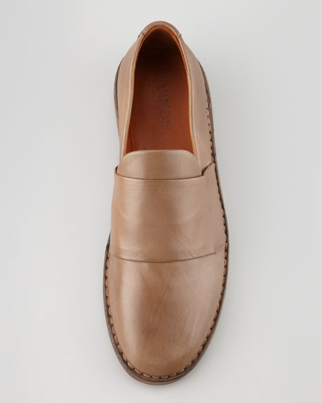 Marcelle Leather Loafer, Tan