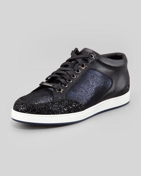 Miami Low-Top Glitter Sneaker