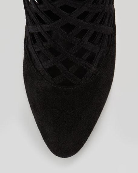 Delta Cutout Knee Boot