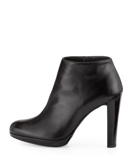 Gran Napa Leather Bootie, Black