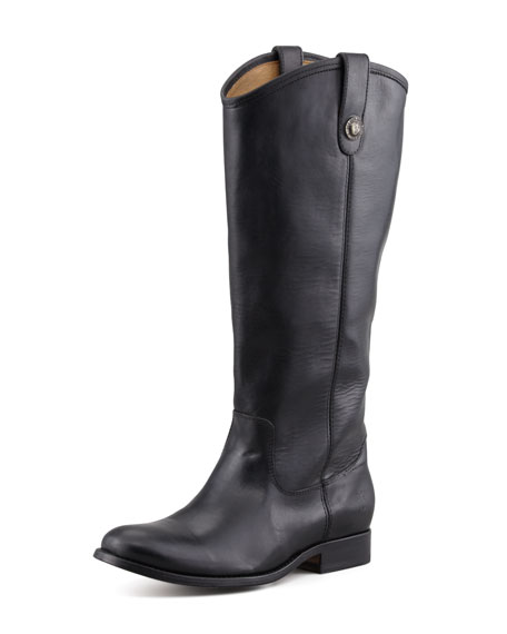 Melissa Button Extended Tall Boot, Black