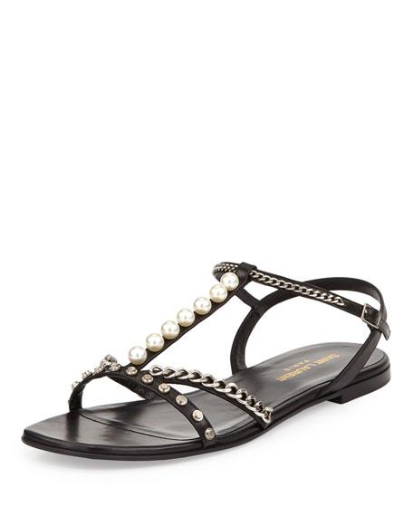 Alice Embellished Flat Sandal
