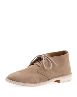 Vince Miller Suede Lace-Up Loafer, Woodsmoke