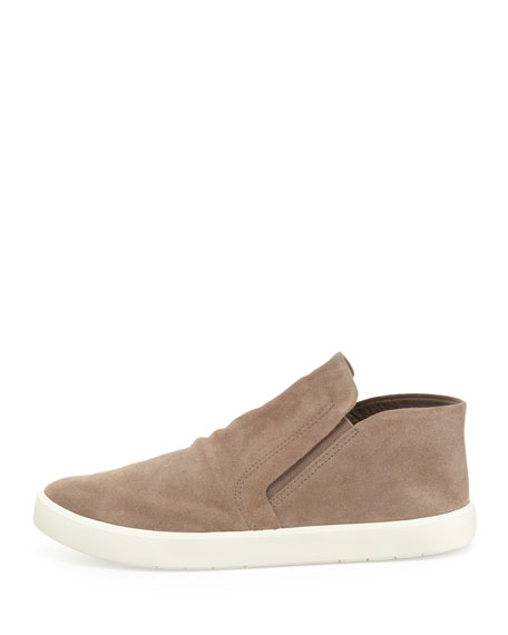 Parry Suede Slip-On Loafer, Woodsmoke