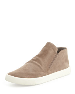 Vince Parry Suede Slip-On Loafer, Woodsmoke