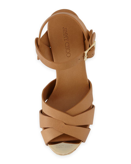 Peddle Platform Wedge Sandal
