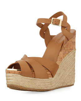 Jimmy Choo Peddle Platform Wedge Sandal