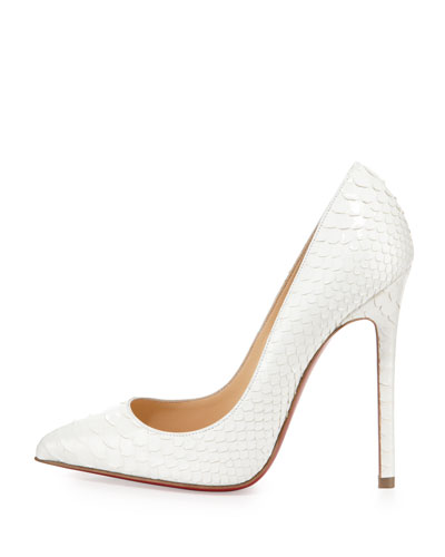christian louis vuitton red bottom shoes - christian louboutin Pigalle python pumps | The Little Arts Academy
