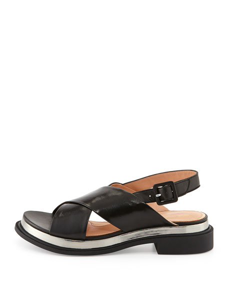 Caliba Chunky Crisscross Sandal