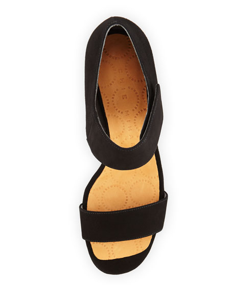 Tasman Suede Ankle-Strap Sandal