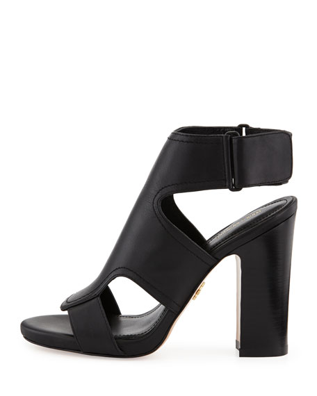Echo Cutout Leather Sandal