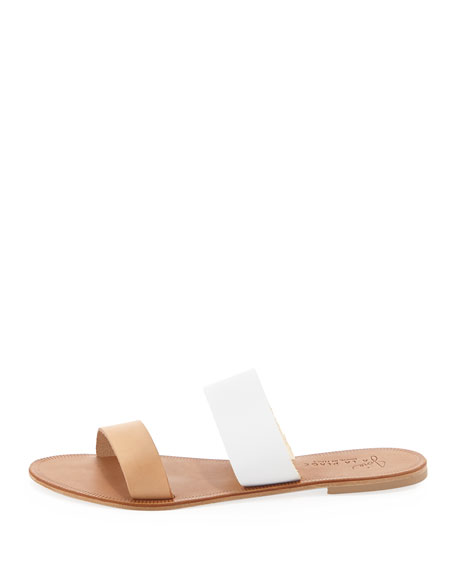 fe36defced6e Joie Sable Two-Tone Slide Sandal
