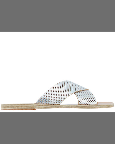 Ancient Greek Sandals THAIS.SLVR.SNDL.