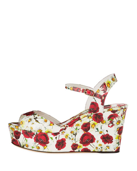 Poppy Wedge Platform Sandal